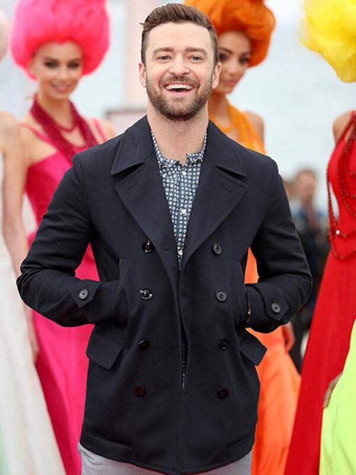 Justin Timberlake Double Breasted Jacket