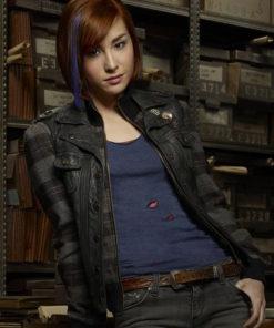 Claudia Donovan Warehouse 13 Leather Vest
