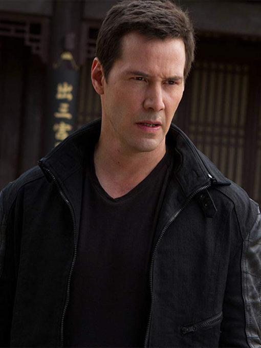 Man of Tai Chi Keanu Reeves Donaka Mark Jacket
