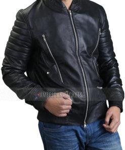 Chicago PD Nick Wechsler Leather Jacket