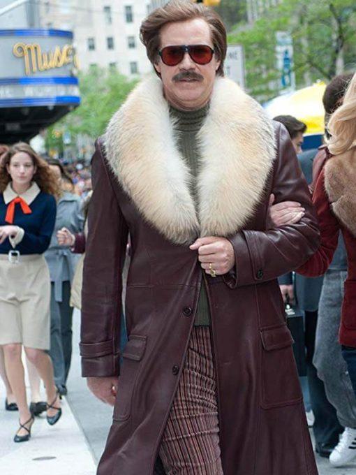 Anchorman 2 Will Ferrell Coat