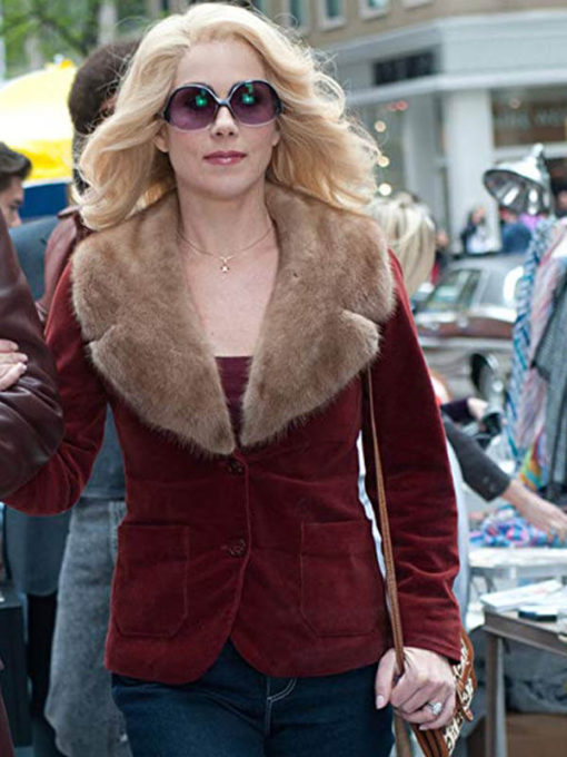 Anchorman 2 Christina Applegate Red Jacket