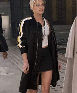 Kristen Stewart Charlies Angels Sabina Wilson Bomber Coat