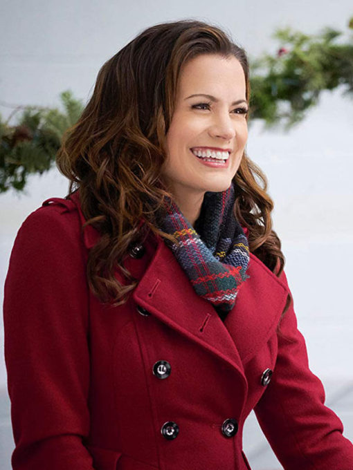 Audrey Brown Holiday for Heroes Red Coat