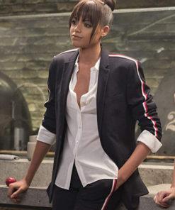 Charlie's Angels Jane Kano Black Blazer Jacket