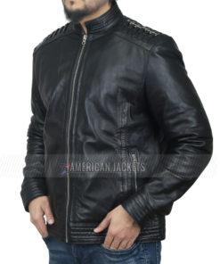 Daniel Sunjata Black Leather Jacket