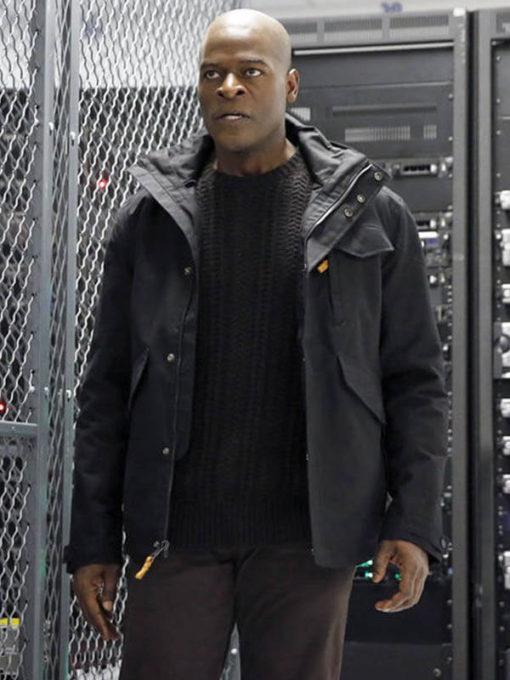Dembe Zuma The Blacklist TV Series Hooded Style Jacket