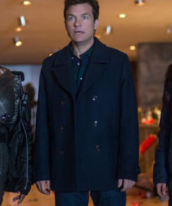 Josh Parker Office Christmas Party Jason Bateman Wool Coat