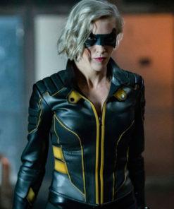 Arrow Spin off Laurel Lance Leather Jacket