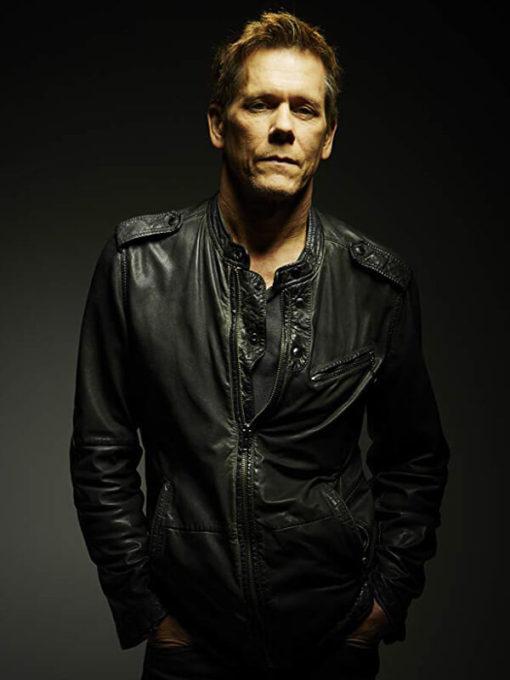 Kevin Bacon Black Jacket