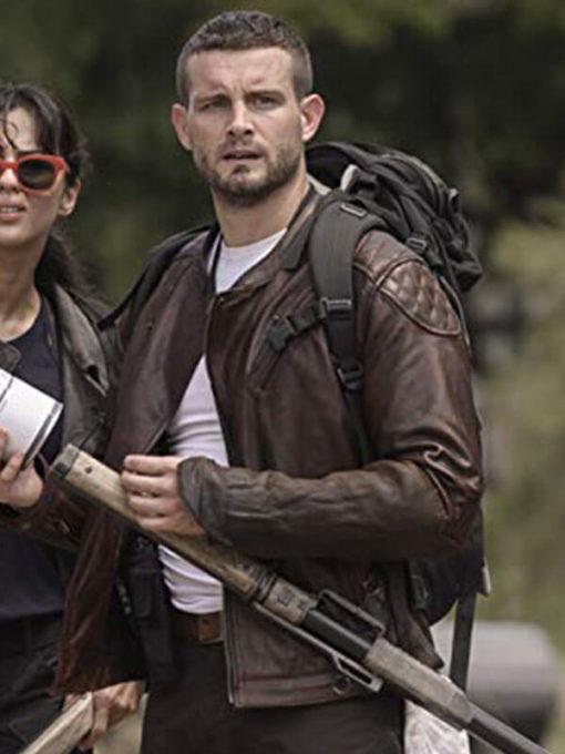 Nico Tortorella The Walking Dead World Beyond Leather Jacket