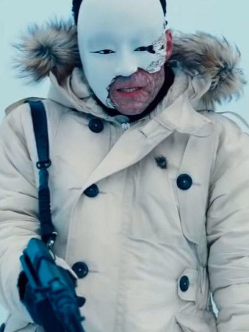 James Bond 25 No Time to Die Masked Gunman Parka Coat