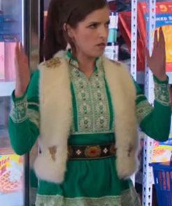 Anna Kendrick Noelle Shearling Vest