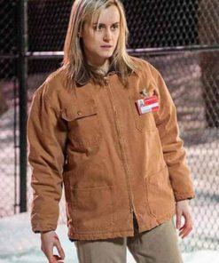 Taylor Schilling Orange Is New Black Piper Chapman Cotton Jacket