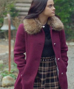 Riverdale Veronica Lodge Fur Shearling Coat