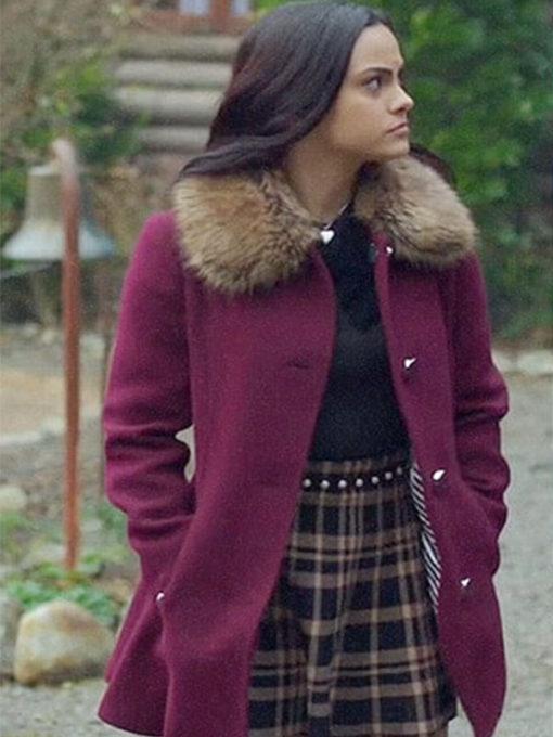 Riverdale Veronica Lodge Fur Shearling Coat