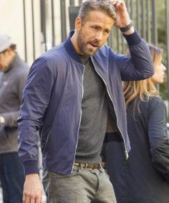 Ryan Reynolds One Blue Jacket