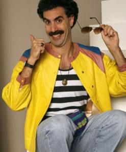 Borat Sacha Baron Cohen Yellow Jacket