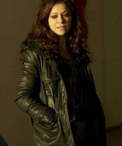 Tatiana Maslany Orphan Black Leather Jacket