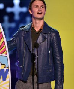 Teen Choice Awards Ansel Elgort Jacket
