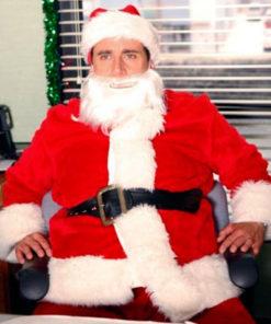 Michael Scott The Office Santa Claus Costume Jacket