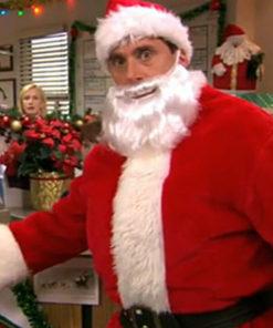 The Office Michael Scott Santa Claus Costume