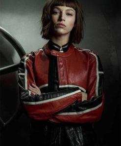 Money Heist Tokio Biker Leather Jacket
