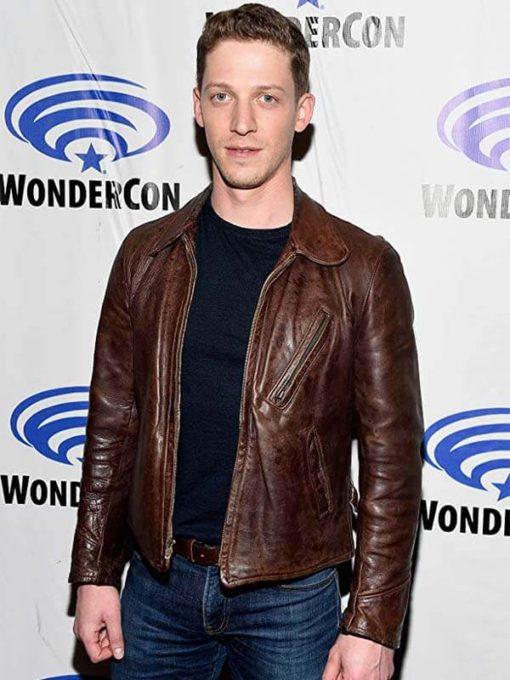 Actor Zach Appelman Wondercon Leather Jacket