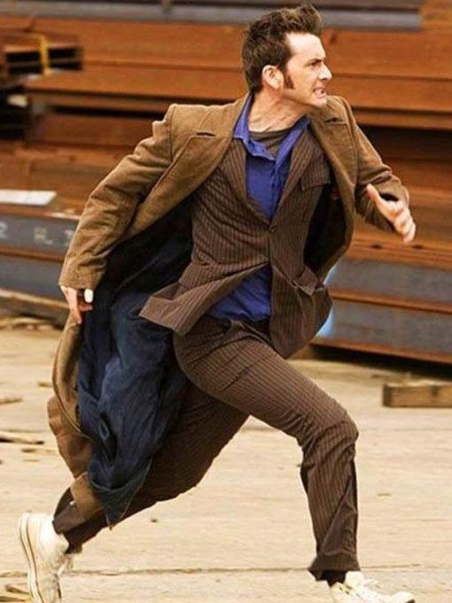 10th Doctor Who David Tennant Wool Coat