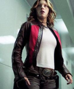 Jessica Biel Abigail Whistler Blade Trinity Jacket