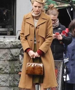 Adaline Bowman The Age of Adaline Brown Trench Coat