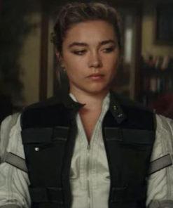 Black Widow Florence Pugh Cotton Vest