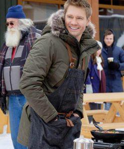 Brett Hollister Love in Winterland Green Cotton Jacket