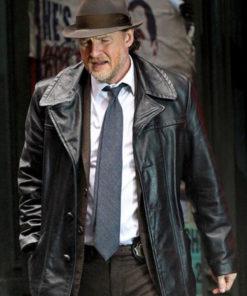 TV Series Gotham Harvey Bullock Leather Jacket