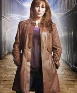 Doctor Who Donna Noble The Bride Leather Coat