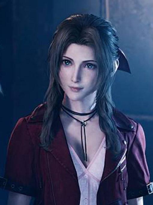 Aerith Gainsborough Video Game Final Fantasy 7 Remake Jacket