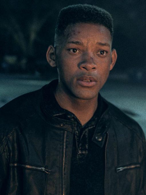 Gemini Man Will Smith Leather Jacket