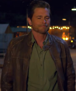 Derek Holiday in the Wild Rob Lowe Leather Jacket