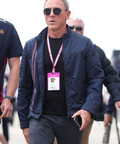 Daniel Craig No Time To Die Blue Jacket
