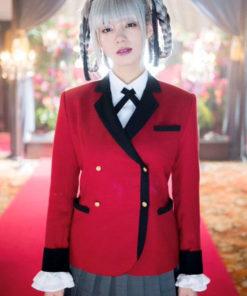 Kirari Momobami Kakegurui Red Blazer