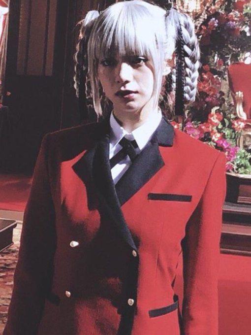 Elaiza Ikeda Kakegurui Red Blazer