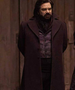 What We Do in the Shadows Matt Berry Wool Trench Coat