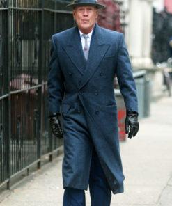 Frank Minna MOTHERLESS BROOKLYN Blue Trench Coat