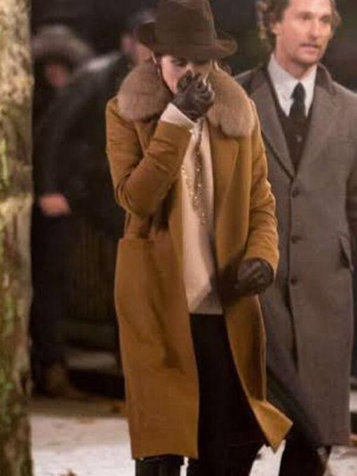 Film The Gentlemen Rosalind Coat