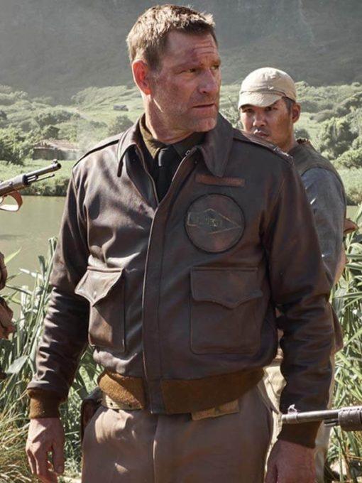 Aaron Eckhart Midway Jimmy Doolittle Jacket