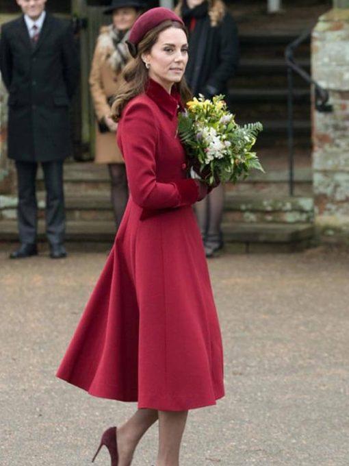 Duchess of Cambridge Red Coat