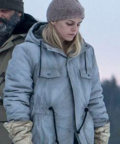 Riley Keough Hold The Dark Medora Slone Coat