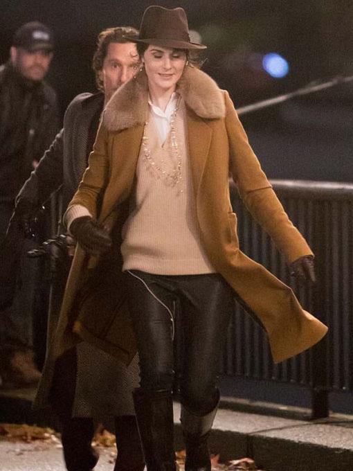 Film The Gentlemen Michelle Dockery Coat