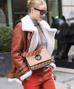 Rosie Huntington-Whiteley B3 Shearling Jacket