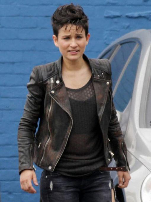 Bex Taylor-Klaus Arrow Sin Leather Jacket